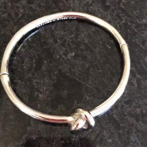 Kate Spade Silver Sailors Knot Bracelet